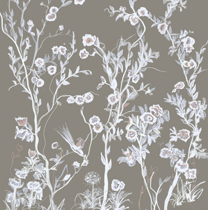 Cherry Blossoms Mural - Fabric