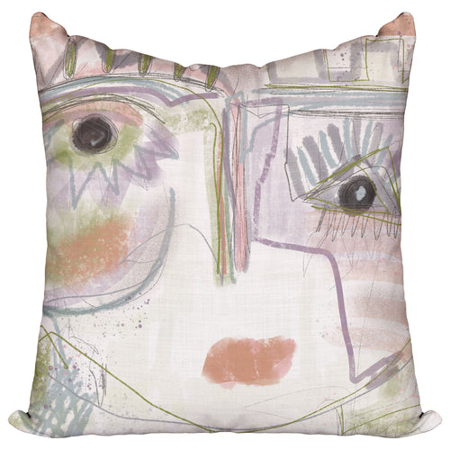 Chica in Lavender — Pillow Cover