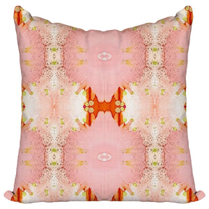 Floral Oranges — Pillow Cover