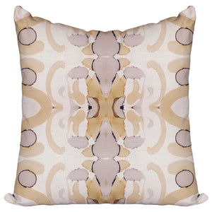 Greys and Lattes — Pillow Cover