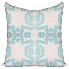 Lace Aqua - Pillow Cover