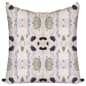 Mossy Blues — Pillow Cover