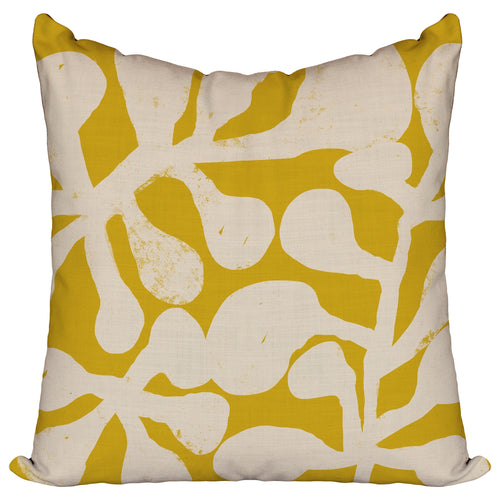 Sprouts Marigold - Pillow Cover