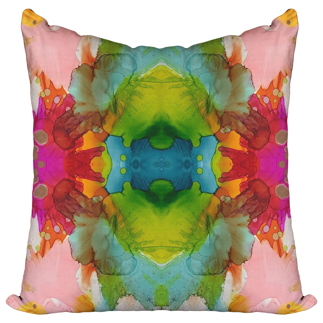 Zany Zinnia — Pillow Cover