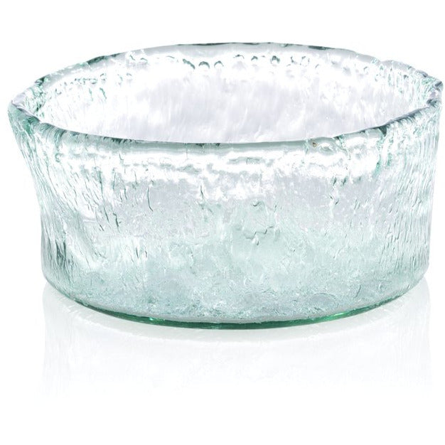 Medium Round Glass Serving Bowl