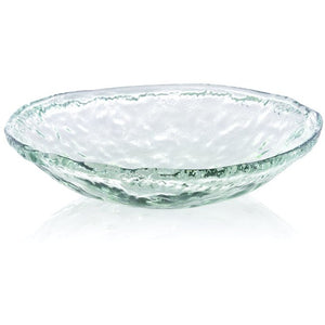Glass Shallow Serving Bowl, Large