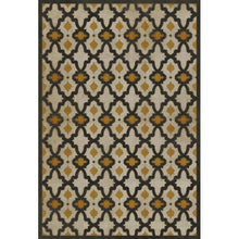 "Load image into Gallery viewer, ""Rajha"" Vinyl Floor Mat, 3'2"" x 4'8"""
