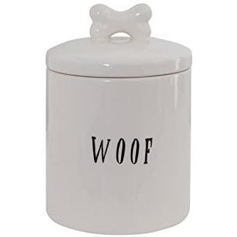 Woof Dog Treat Cannister