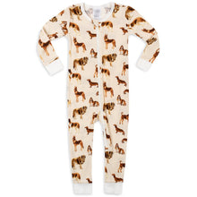 Load image into Gallery viewer, Organic Cotton Zippered Pajamas (7 Patterns)