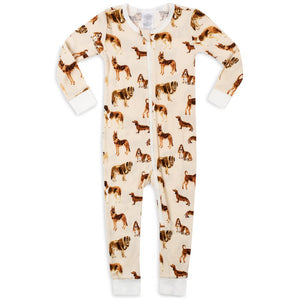 Organic Cotton Zippered Pajamas (7 Patterns)