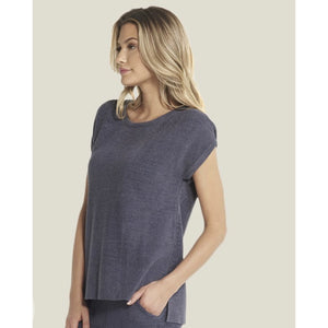 CozyChic Ultra Lite Cap Sleeve Tee (3 colors)