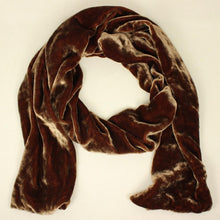 Load image into Gallery viewer, Silk Velvet Scarf (8 Colors)