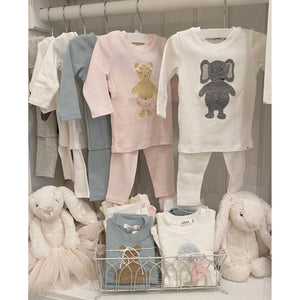 Grey Elephant 2-Piece Baby Outfit