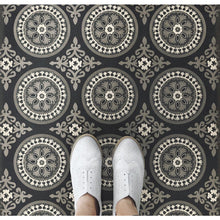 "Load image into Gallery viewer, ""Karma"" Vinyl Floor Mat, 3'2"" x 4'8"""