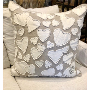 Hundred Hearts Pillow