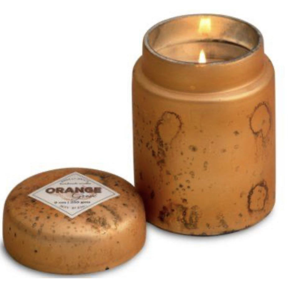 Mountain Fire Pot Candle -  Orange Grove