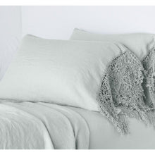 Load image into Gallery viewer, Bella Notte Linens Frida Standard Pillowcase with Lace Trim