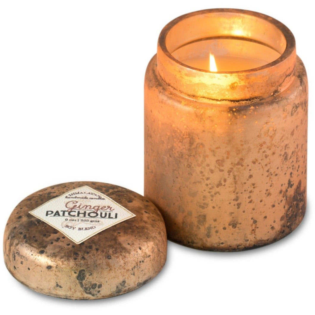 Mountain Fire Pot Candle - Ginger Patchouli