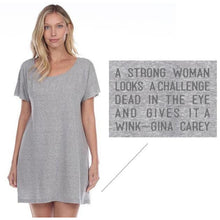 Load image into Gallery viewer, Snozi T-Shirt Dress (2 Colors)