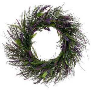 Lavender Twig Wreath