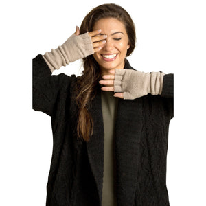 CozyChic Fingerless Gloves (2 colors)