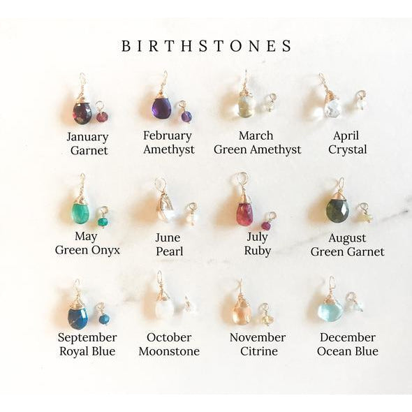 Semi-Precious Stones for Identity Necklace