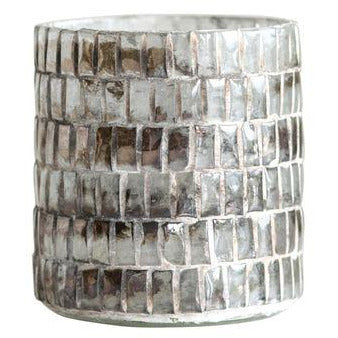 Mosaic Tea Light Candleholder