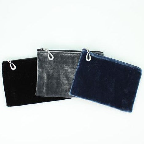 Silk Velvet Coin Purse - Assorted Colors