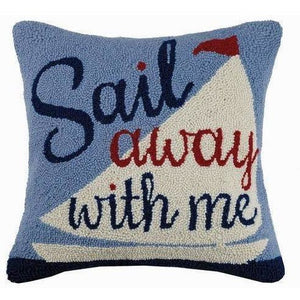 Sail Away With Me Pillow