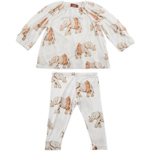 Load image into Gallery viewer, Long Sleeve Dress & Legging Set, Tutu Elephant