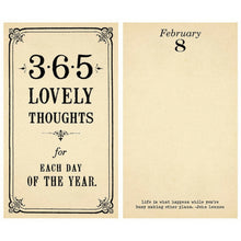 Load image into Gallery viewer, 365 Lovely Thoughts Pad