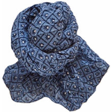 Load image into Gallery viewer, Organic Block Print Scarves (assorted prints)