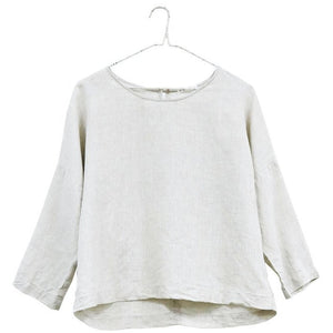 Easy 3/4 Sleeve Linen Top
