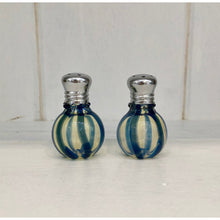 Load image into Gallery viewer, Hand Blown Salt and Pepper Shakers, Small