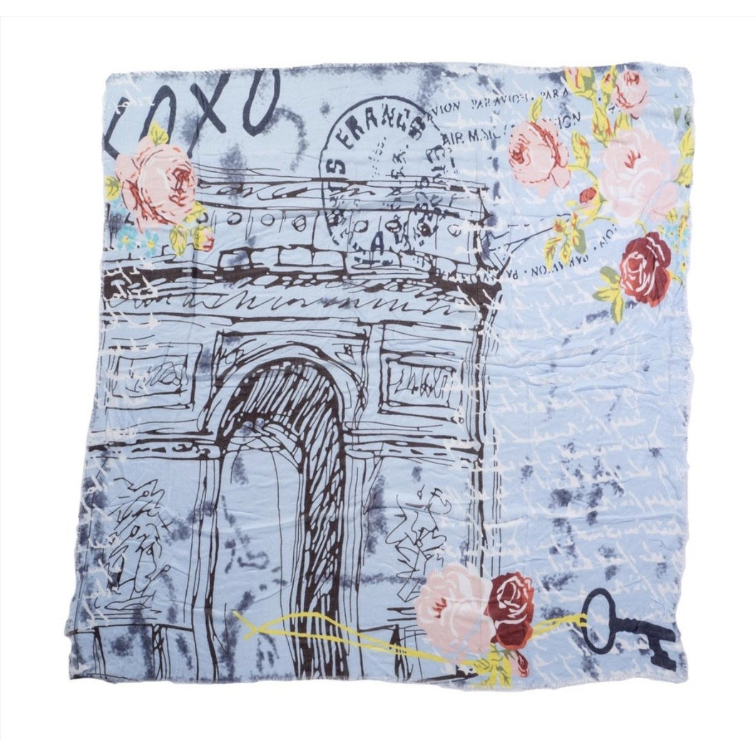 XOXO Paris Scarf