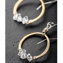 Load image into Gallery viewer, Herkimer Diamond Earrings