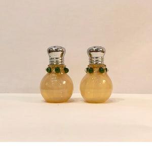 Hand Blown Salt and Pepper Shakers, Small