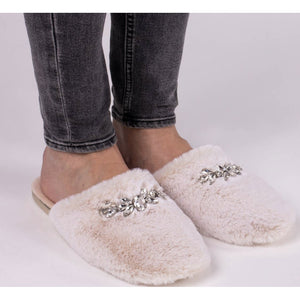 Dido Jeweled Slipper