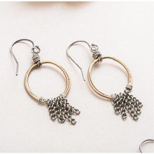Load image into Gallery viewer, Brooklyn Mixed Metal Earrings