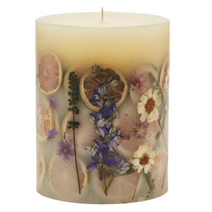 Lavender Botanical Candle, Medium