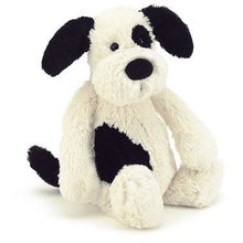 Load image into Gallery viewer, Bashful Black and Cream Puppy, Medium