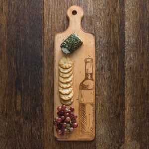 Maple Artisan Plank Serving Board