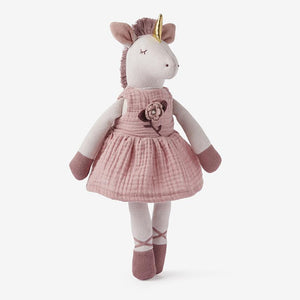 Unicorn Baby Knit Toy
