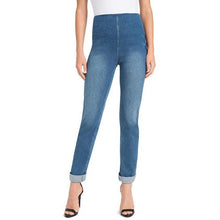 Load image into Gallery viewer, Boyfriend Jean Legging - Midwash Denim