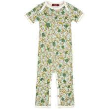 Load image into Gallery viewer, Baby Short Sleeve Bamboo Romper (4 Patterns)