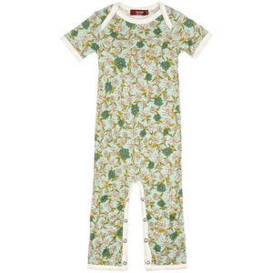 Baby Short Sleeve Bamboo Romper (4 Patterns)