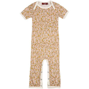 Baby Short Sleeve Bamboo Romper (3 Patterns)