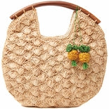 Load image into Gallery viewer, Isla Pineapple Artisan Clutch