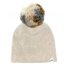 Load image into Gallery viewer, Pom Pom Baby Hat - Sand