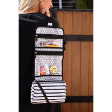 Load image into Gallery viewer, Scout Beauty Burrito Hanging Toiletry Bag (2 Patterns)